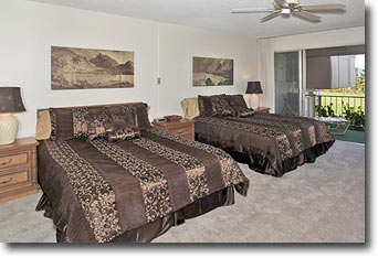 Maui Eldorado Vacation Rental A-204 Beds